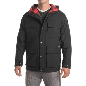 $279 Woolrich Advisory Wool Insulated Parka Jacket